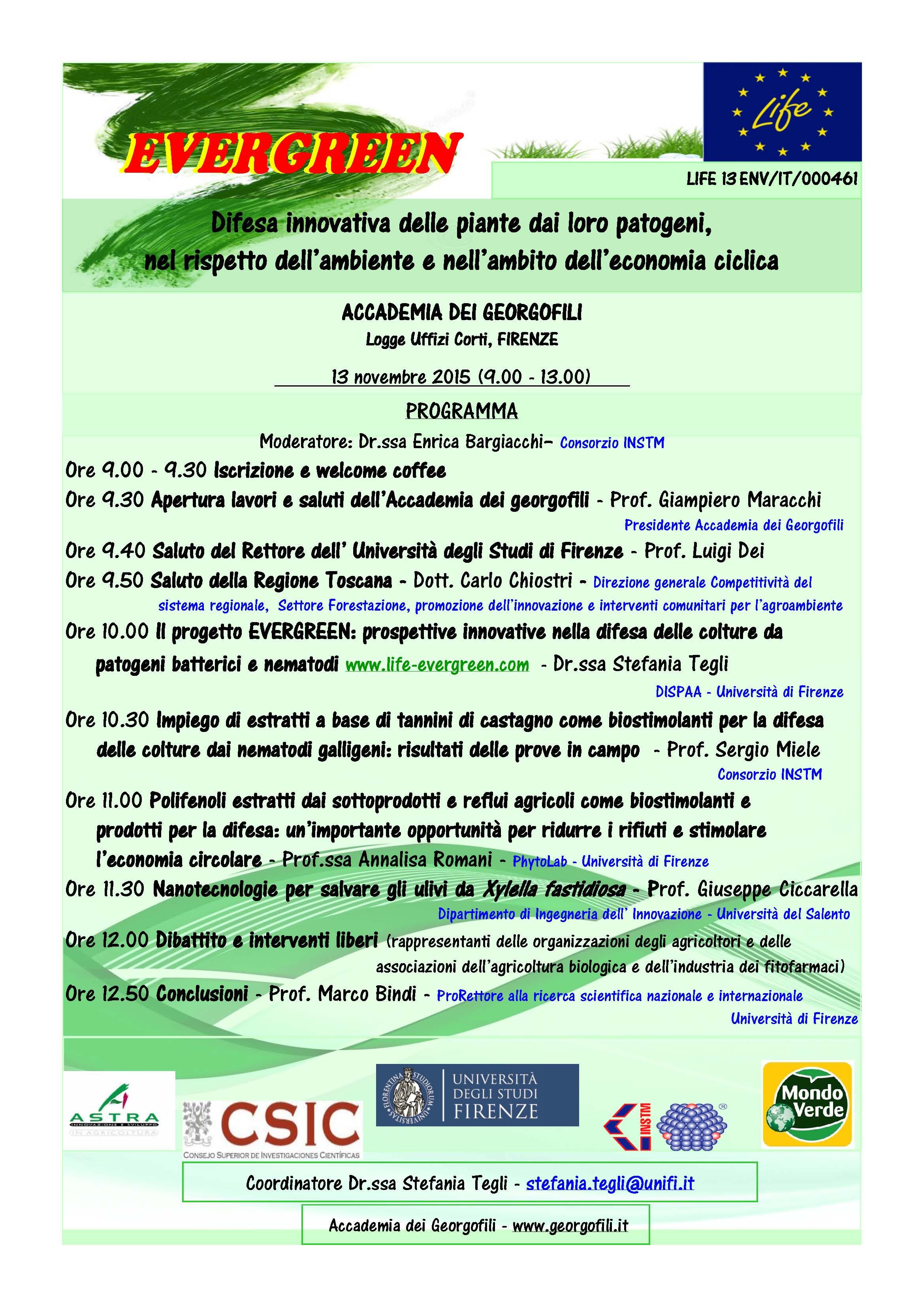Invito Evergreen - Georgofili def